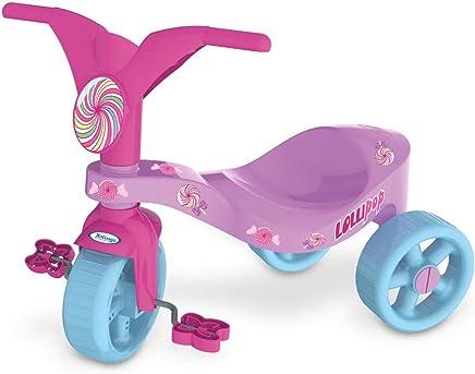 Triciclo Lolli Pop, Xalingo, Lilás/Rosa, Pequeno