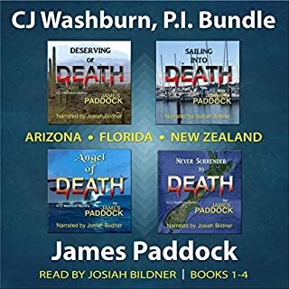 CJ Washburn, P.I. Bundle: Books 1-4 audiobook cover art