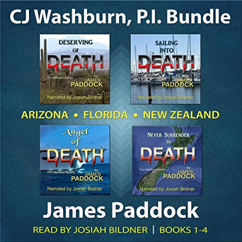 CJ Washburn, P.I. Bundle: Books 1-4  By  cover art