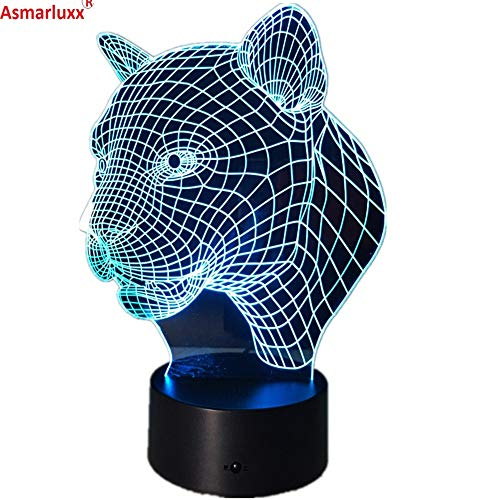 Leopard Leopard lampendekoration tischlampe Lade Schlafzimmer Wohnzimmer bar atmosphäre Dekoration acryl Lampe
