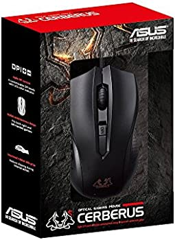 ASUS Cerberus Ambidextrous Wired 6-Button Optical Gaming Mouse