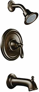 Moen T2153EPORB Brantford Posi-Temp Pressure Balancing Eco-Performance Tub and Shower Trim Kit Valve Required, Oil-Rubbed Bronze