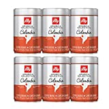 Illy Coffee Whole Bean Arabica Colombia - 8.8oz (6 Pack)