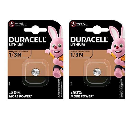2er Set Duracell Lithium Batterie CR 1/3 N