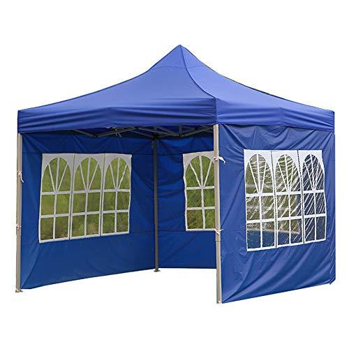 Ajing Oxford - Tenda da sole in tessuto, 3 x 2 m (lato singolo), 9 x 2 m (tre lati), tenda pieghevole a baldacchino, protezione solare, anti-uv e impermeabile, per cortile, balcone, ristorante