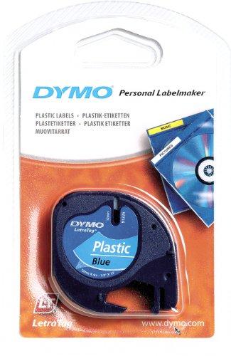 Dymo Schriftband 91225 LetraTag 12mm/4m blue