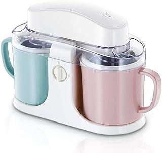 ZJZ Mini Fabricant de crème glacée, appareils ménagers à Usage Domestique Outils de Cuisine Enfants Bricolage Machine à cr...