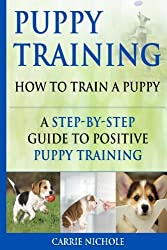 Positive puppy training