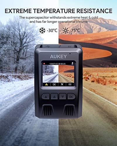 AUKEY Dashcam 1080P Kompakte Autokamera - 10