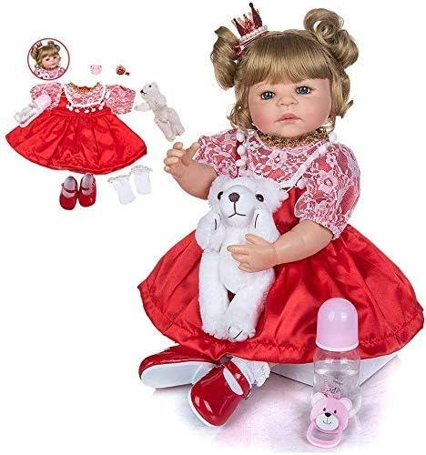 22 Inch Lifelike It is very popular Reborn Dolls Full Quantity limited Vinyl 55 Body cm P Fashionble