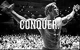 Arnold Schwarzenegger CONQUER - Body Building Wall Poster Print (36x24)