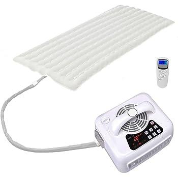 冷温水ベッドパッド 敷きパッド 冬に温水で暖かめ、夏に涼水で涼しい 恒温タイマー (コットン, 1.9×0.9m)