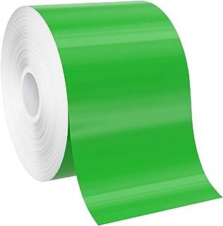 "SafetyPro 3""x150` Green Premium Vinyl Labeling Tape, for SafetyPro, Duralabel 4TTP, Duralabel Pro, VnM, and Select LabelTa..."