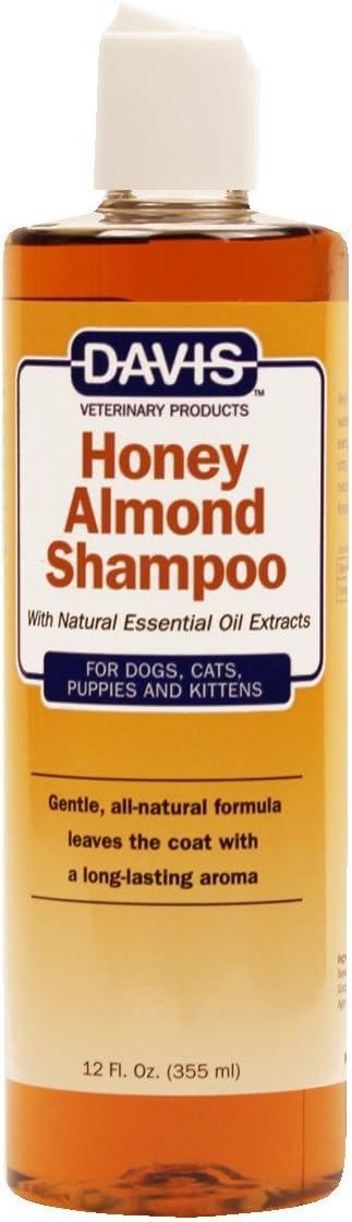 Davis HAS12 Honey Almond Pet Shampoo, 12 oz : Pet Supplies