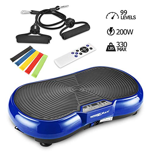 Why Should You Buy Vibration Platform Exercise Machine, Whole Body Vibration Fitness Plate with Remo...