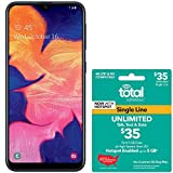 Total Wireless Samsung Galaxy A10e 4G LTE Prepaid Smartphone (Locked) - Black - 32GB - SIM Card Included - CDMA - with $35 Airtime Bundle