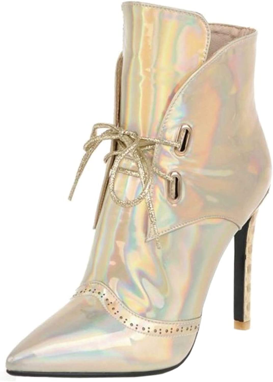 Melady Women Fashion Bootie Stiletto Heels Party