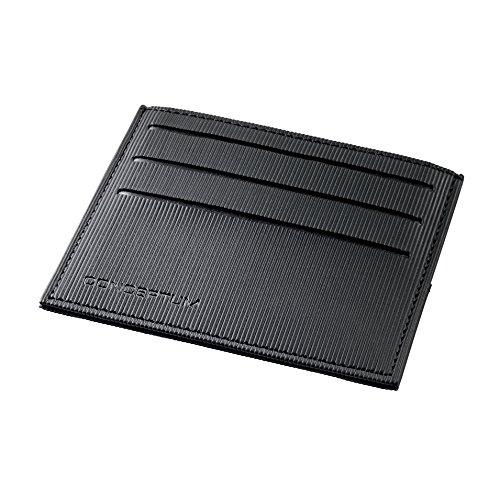 SIGEL CO900 Kreditkartenetui, 5 Fächer, RFID & NFC Schutz, schwarz, Conceptum