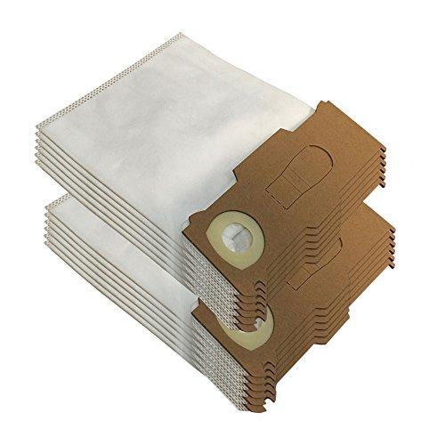Set 12 Mikrovlies Staubsaugerbeutel geeignet für Vorwerk Kobold VK 130 131 SC - VK130, VK131 - FP 130 131 - mit Spezial-Vlies