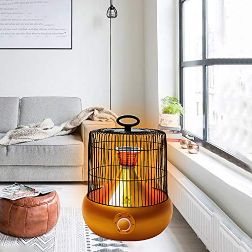 DYCLE Patio heater,Carbon crystal element Fast heat,Outdoor or indoor use Birdcage electric heater 900W/1200W