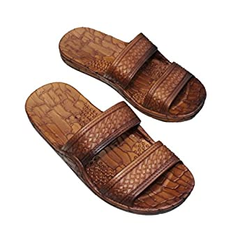 IMPERIAL SANDALS HAWAII Double Strap Jesus Style Hawaii Sandals Size 10 Women /8 men Unisex Sandal for Women Men and Teens