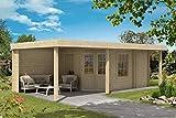 CARLSSON Gartenhaus Johanna-40 Plus