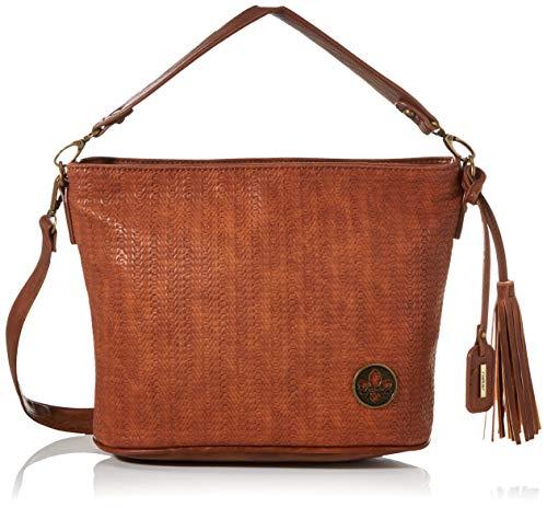 Rieker Handtasche, Bolsa de noche para Mujer, Marrón (braun/nuss-antik), 220x125x315 centimeters (B x H x T)