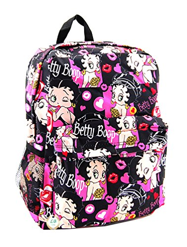 Betty Boop Microfiber Large Backpack