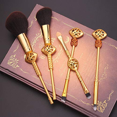 Dilla Beauty 5 Pièces Rétro Singulier Dr. Makeup Brushes Avengers Marvel Autour Des Dutils de Beauté Ago Moto Pinceaux Pour le Maquillage Des Yeux