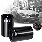 Sifflet turbo 1pcs Car Styling for BMW E30 E36 E46 E90 E91 E92 E93 F30 320i M Power LOGO voiture tuyau d'échappement Silencieux Tip Turbo Sifflet Aut (Color : Black M Logo)