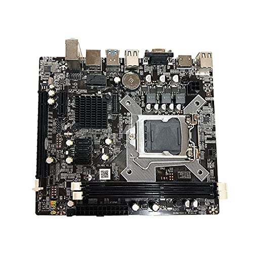 Placa base port aacute;til de la computadora H81, LGA 1150 Pin Quad Core soportes, interfaz del disco duro, DDR3 canal dual para la CPU I3 I5//115
