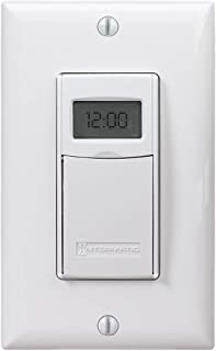 Intermatic EI600WC Decorator Digital In-Wall 7-Day Astronomic Timer, White