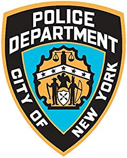 NYPD Police pop Vinyl | 6 - Sizes Bumper Banner Sticker Window | NYPD Police car Decal