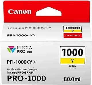Canon PFI-1000Y Ink Cartridge, Yellow