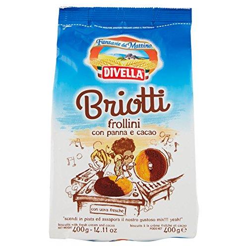 Divella Briotti Frollini con Panna e Cacao - 400 gr