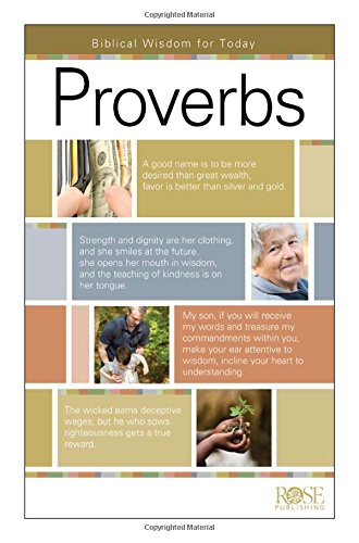 Proverbs Pamphlet: Biblical Wisdom for Today