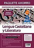 Paquete Ahorro Lengua Castellana y Literatura Cuerpo de Profesores de Enseñanza Secundaria