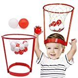 Canasta de baloncesto, juguete creativo de plástico, cabeza de baloncesto, juguete interactivo, práctica de sombrero, portátil