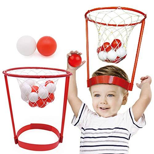 Deportes Al Aire Libre Juguete Creativo Plástico Lanzamiento De Baloncesto Cabeza De Baloncesto - Sombrero De Juguetes Interactivos para Ni?osBasketball Hoop para Jugar