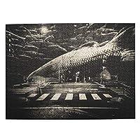 500ピース ジグソーパズル 都会を泳ぐ魚 パズル 木製パズル 動物 風景 絵 ピクチュアパズル Puzzle 52.2x38.5cm