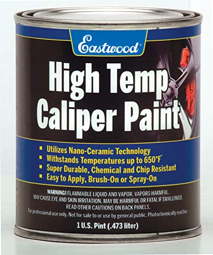 Eastwood Long Lasting Heat Resistant Red Caliper Paint 16 oz