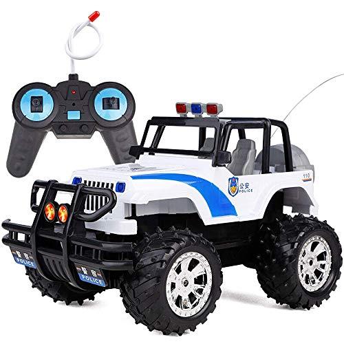 YLJYJ The Coolest 1:14 RC Cars Off-Road Rock Vehicle Toy Control Remoto Camión de Carreras Recargable Electric Race Buggy Niños Adultos (Coche Inteligente)