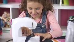 Amazon.com: AMAV Fashion Time The Little Seamstress Denim ...