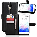 Apanphy Meizu M3 Note Case [Leather Wallet Case] [Stand
