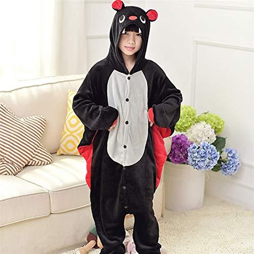 WJCRYPD Pijamas Cosplay Franela Niños Pijamas Set De Invierno con Capucha Animales For Niños Pijamas De Niños Niñas Ropa De Noche Onesies Qf Shop (Color : 25, Kid Size : 12T 135-145CM)