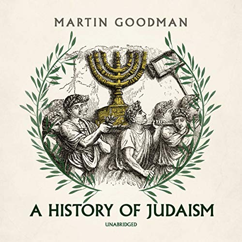 A History of Judaism audiobook cover art