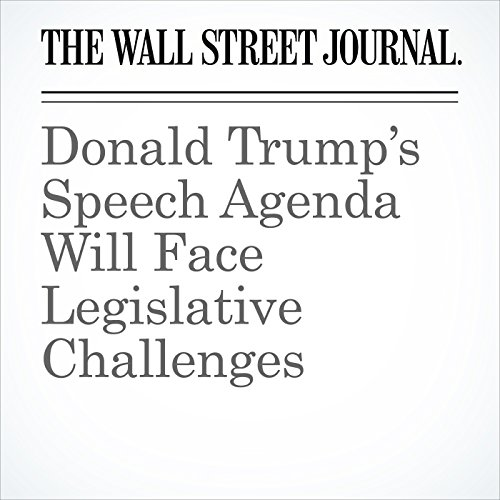 Donald Trump's Speech Agenda Will Face Legislative Challenges copertina