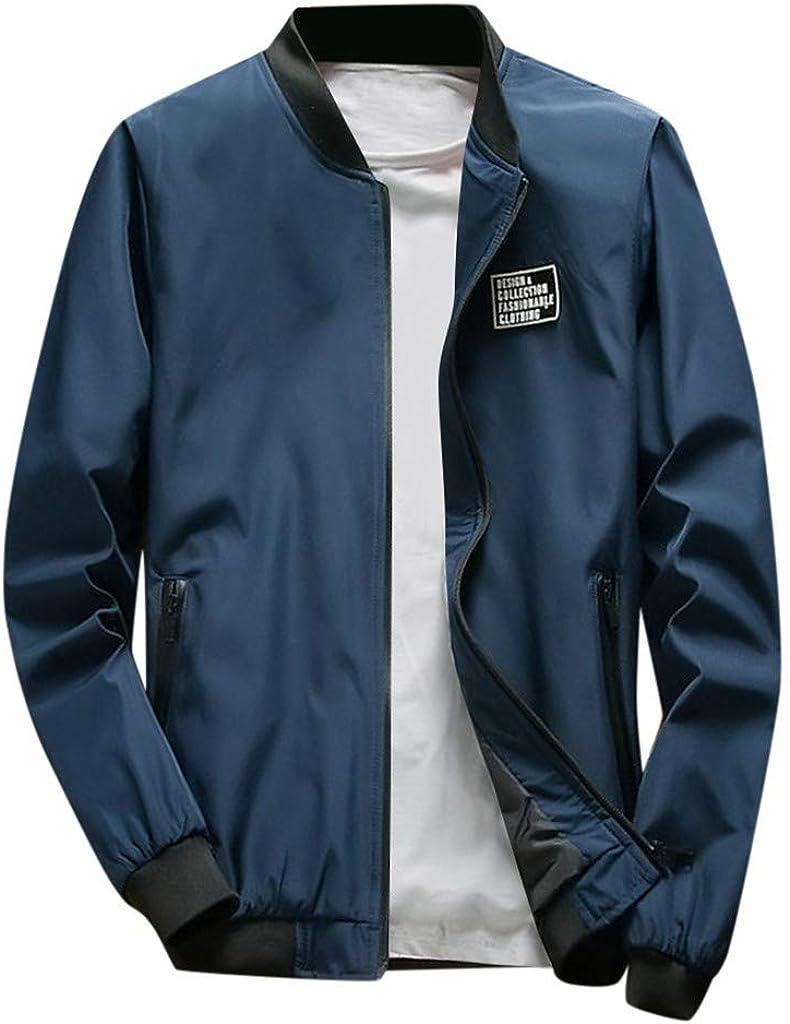 Landscap Men Jacket Winter Warm Zip Slim Coat Trench Coat Outwear Full Zip Soft Lined Outdoor Wind Jacket