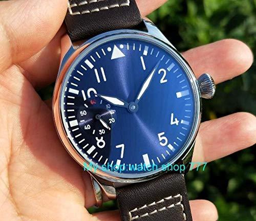 LIGUANGWEN Marcado De Color Azul Claro Joyas Asiáticas Luminosos Verde Relojes Mecánicos De Movimiento Hombres S Reloj Mecánico De La Mano De Viento