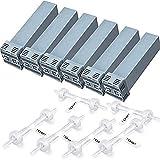 PLMN Cartridge CPAP Filter Kit, 12 CPAP Reiniger und Sterilisatoren for SoClean 2, Zubehör, einschließlich 6 Elemente Filter + 6 Rückschlagventile